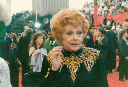 Lucille Ball at the 61st Academy Awards